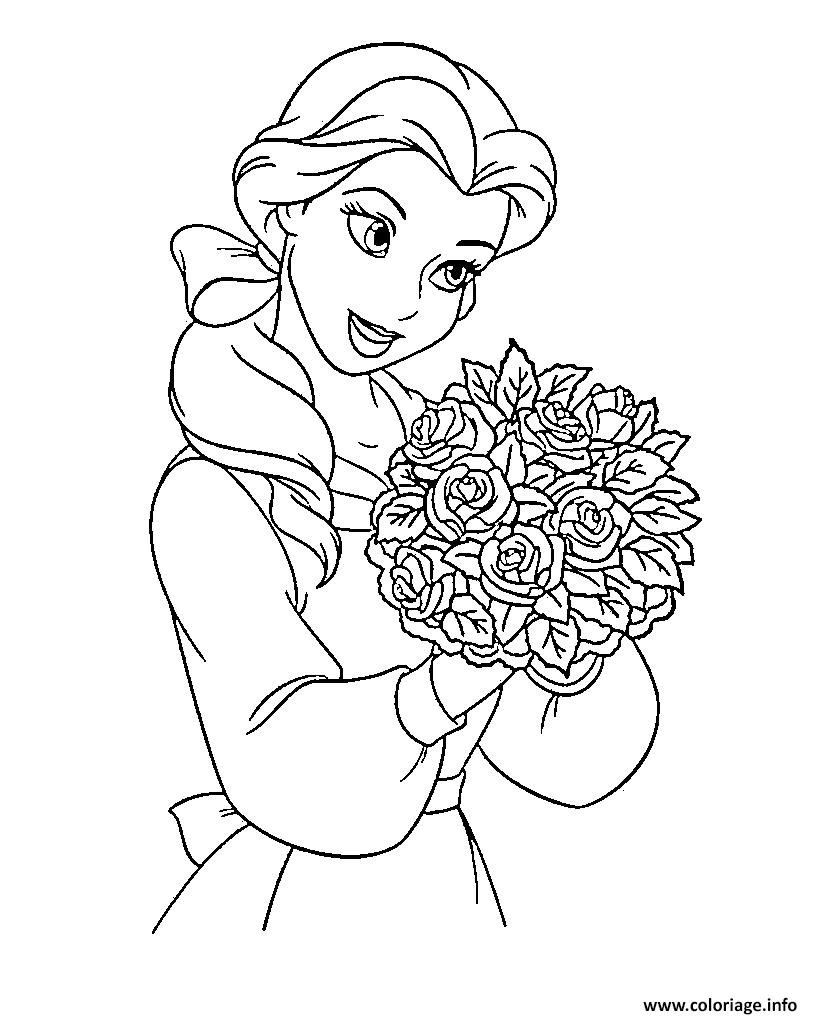 Coloriage disney princesse 162 dessin - Coloriages princesse ...