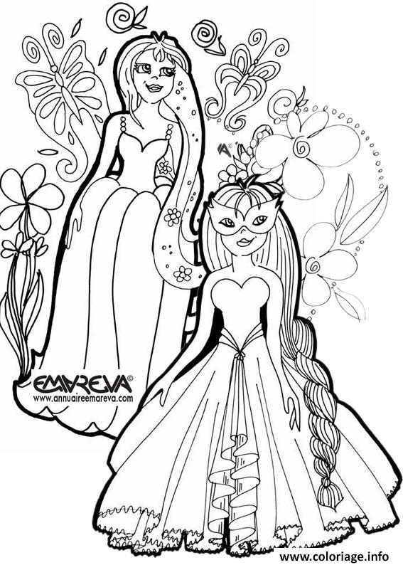 Coloriage disney princesse 217 - Comment dessiner une princesse disney ...