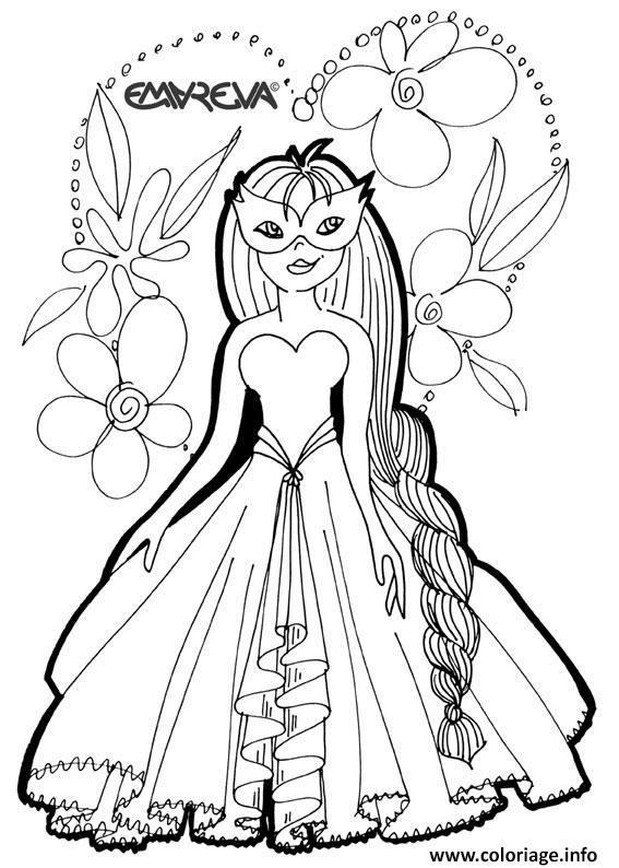Coloriage disney princesse 48 - Dessins princesse ...
