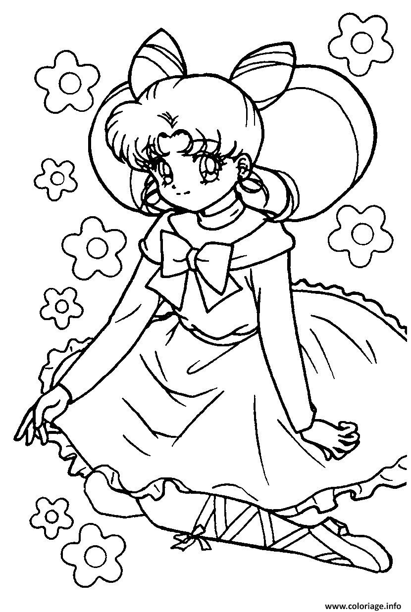 Coloriage Princesse Sarah 123 Dessin