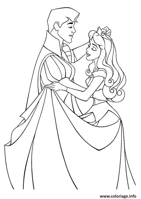 Coloriage aurore princesse 16 dessin - Coloriage en ligne princesses ...