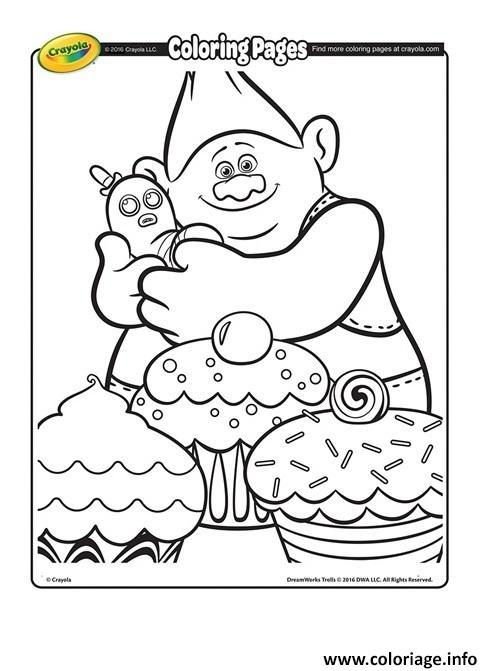Coloriage biggie and mr dinkles 2 trolls dessin - Dessin de troll ...