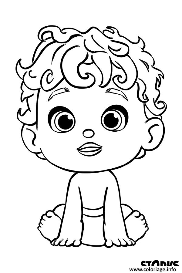 Coloriage le bebe du cigognes et compagnie film - Clipart cinema gratuit ...