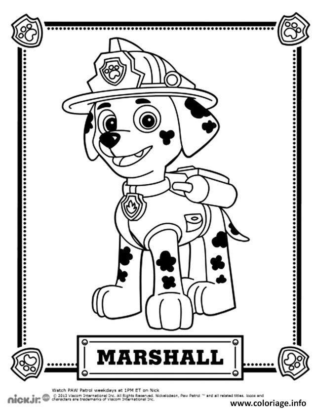 Coloriage Beau Dalmatien Marcus Marshall Dessin