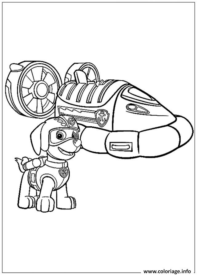 Zuma paw patrol coloring pages sketch coloring page - Pat patrouille coloriage ...