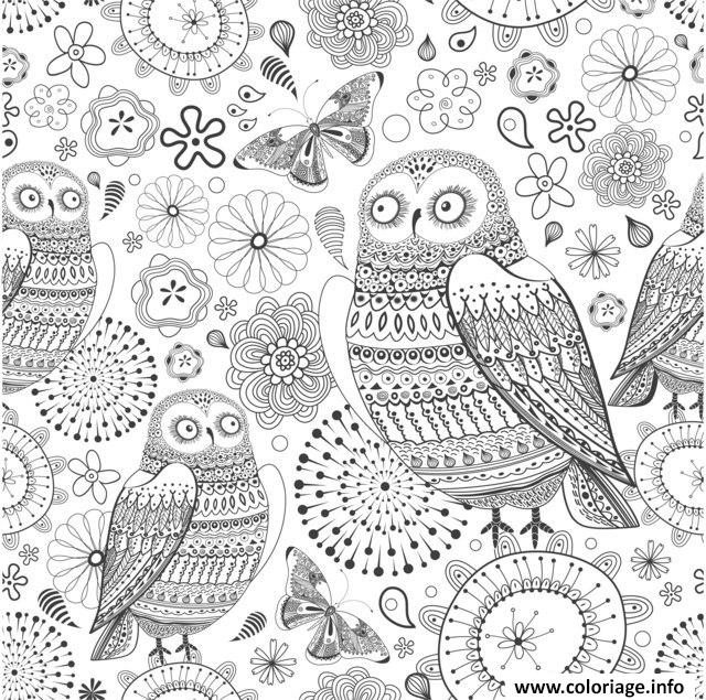 coloriage anti stress animaux