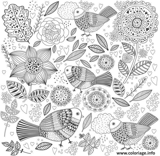 coloriage anti stress original