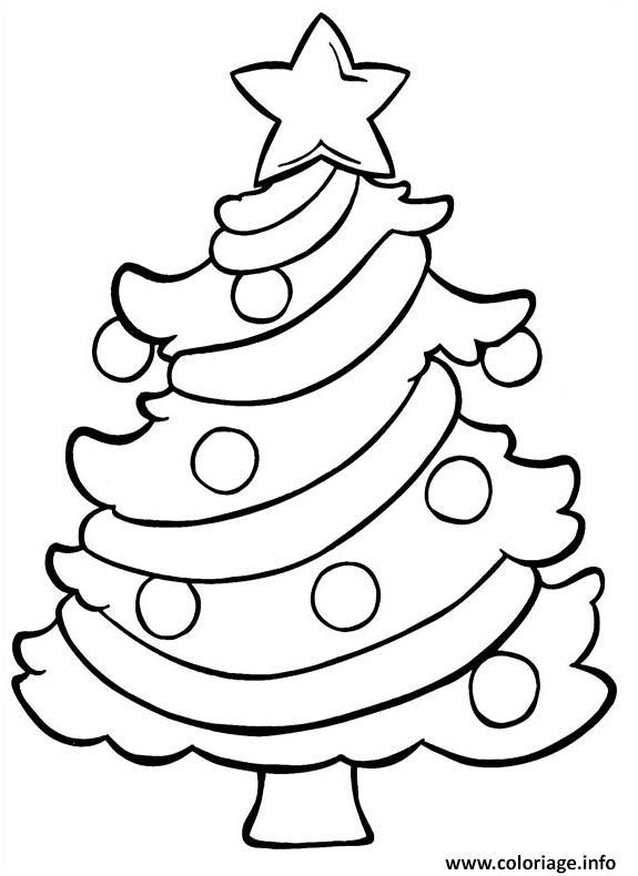 Coloriage Sapin De Noel 26 Dessin