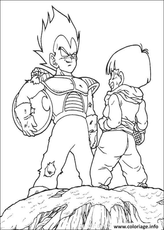 Coloriage Dragon Ball Z 67 Dessin à Imprimer
