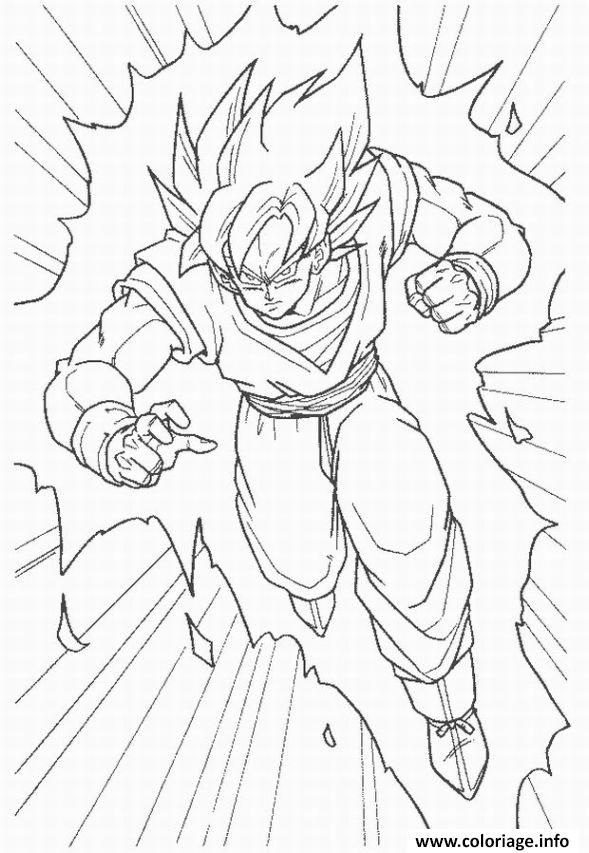 Coloriage dragon ball z 21 - Dragon ball z 21 ...