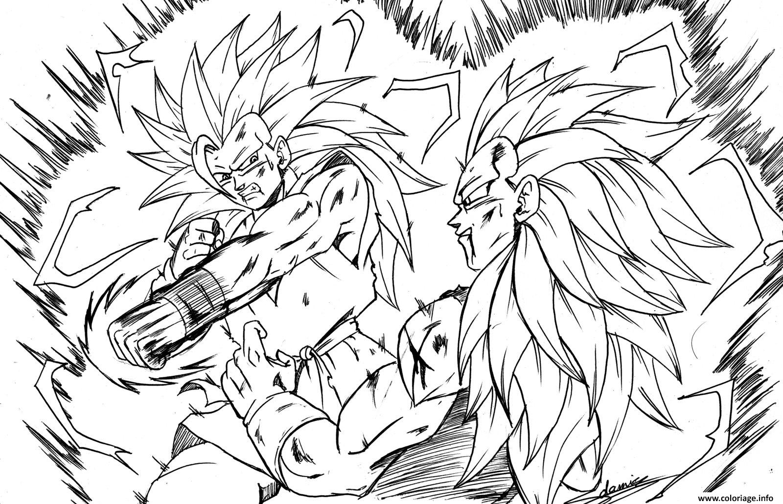 Coloriage Dragon Ball Z 23 Dessin   Imprimer