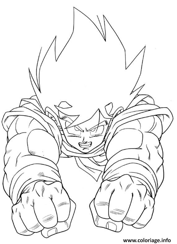 Coloriage Dragon Ball Z 49 Dessin à Imprimer
