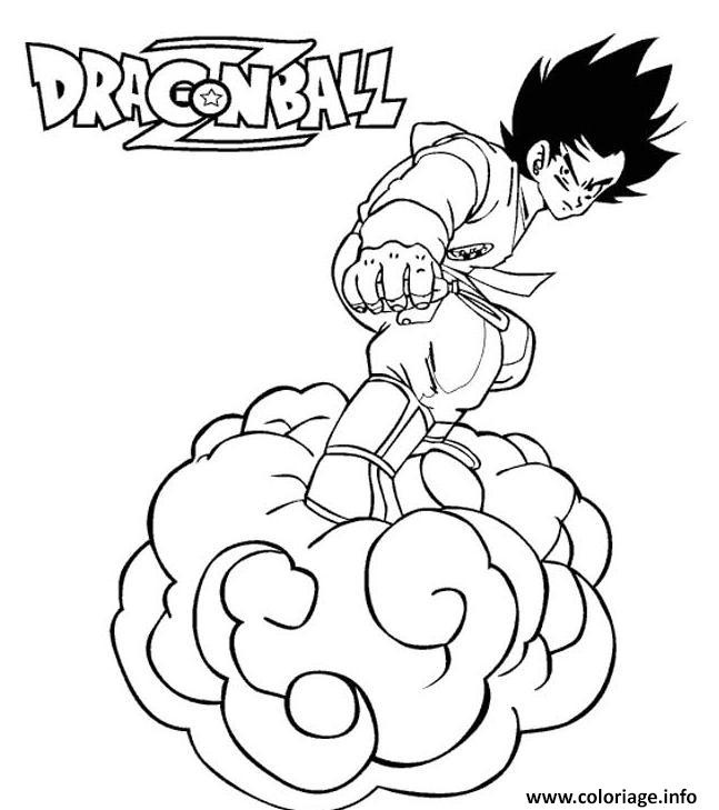 Coloriage dragon ball z 84 dessin - Dessin dragon ball z facile ...