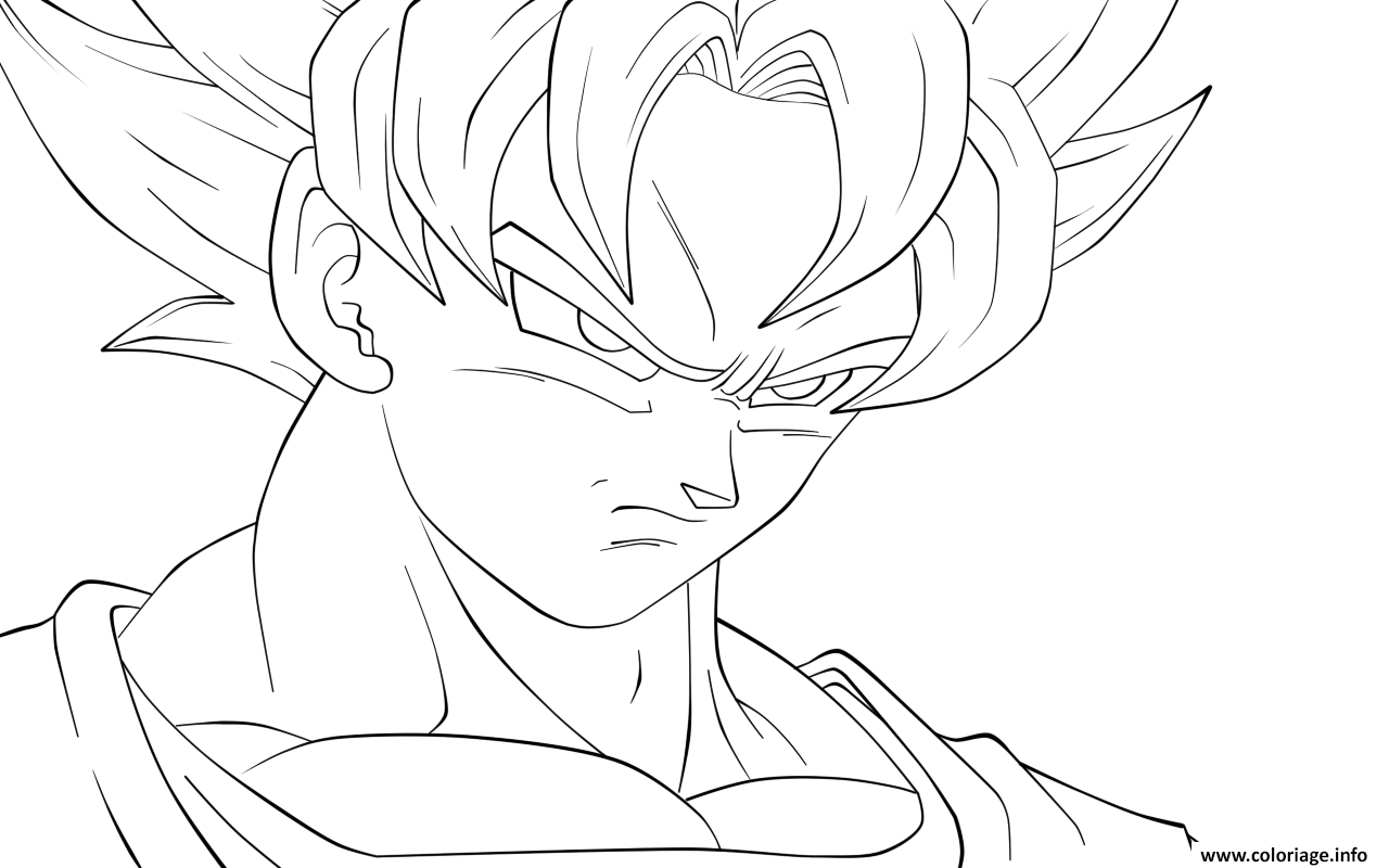 dragon ball z dessin