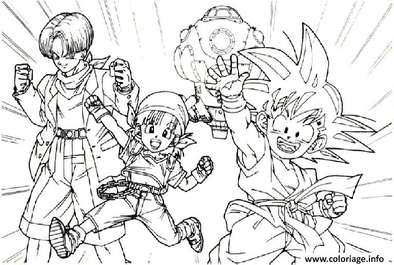 Coloriage Dragon Ball Z 145 Jecolorie Com