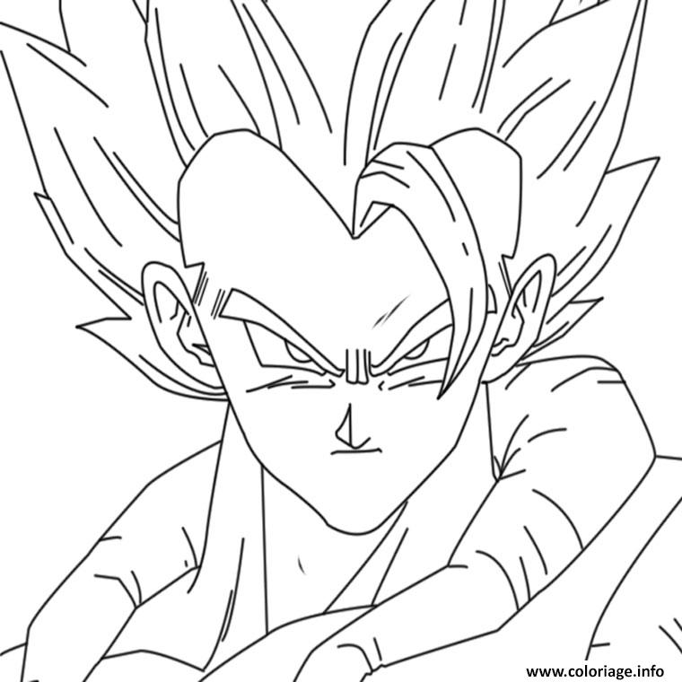 Coloriage Dragon Ball Z 2 Dessin à Imprimer