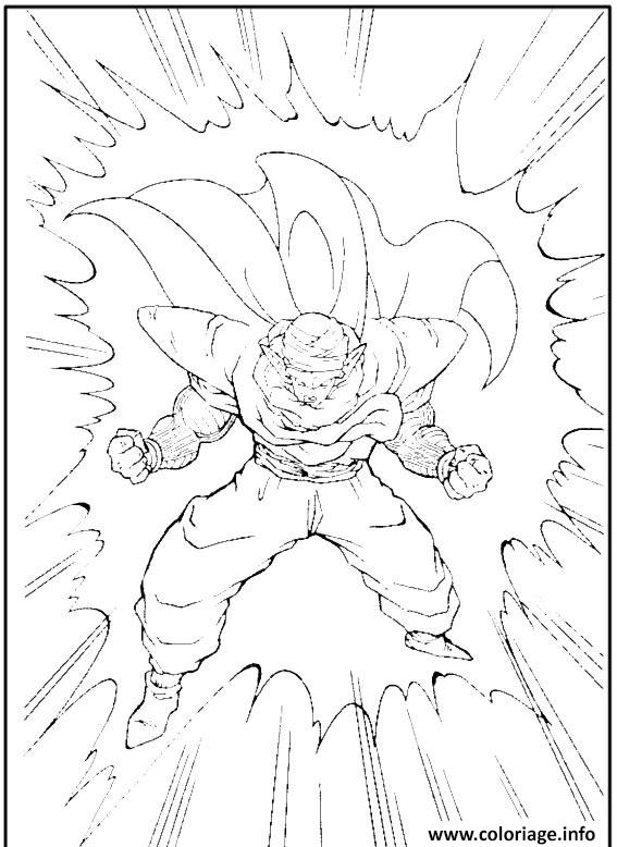 Coloriage Dragon Ball Z 134 Dessin à Imprimer