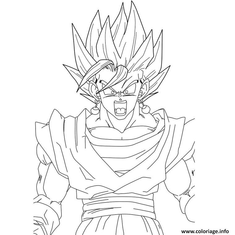 Coloriage Dragon Ball Z 186 Jecolorie Com
