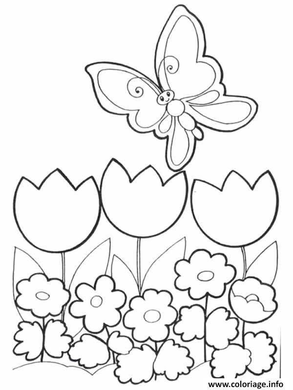 Coloriage fleur dessin - Fleur en coloriage ...
