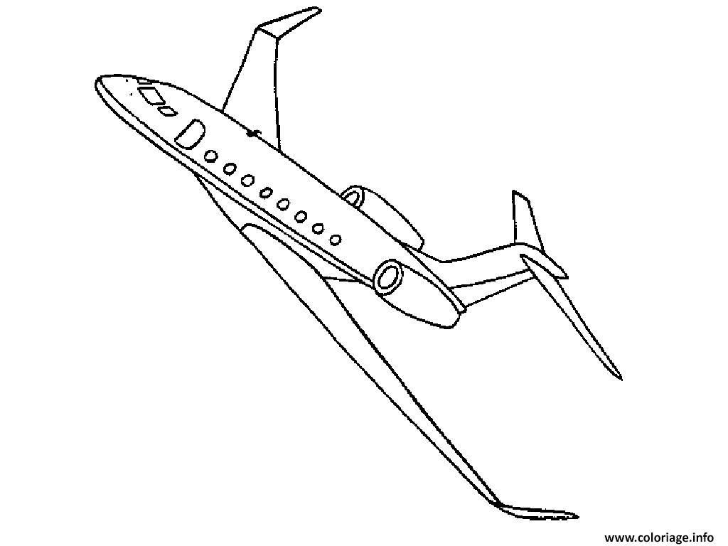 Coloriage avion 135 dessin - Dessins avions ...