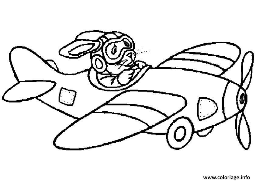 Coloriage avion 17 - Dessin de avion ...