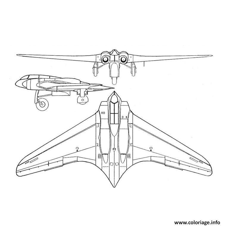 Coloriage avion de guerre dessin - Jeu info avion ...