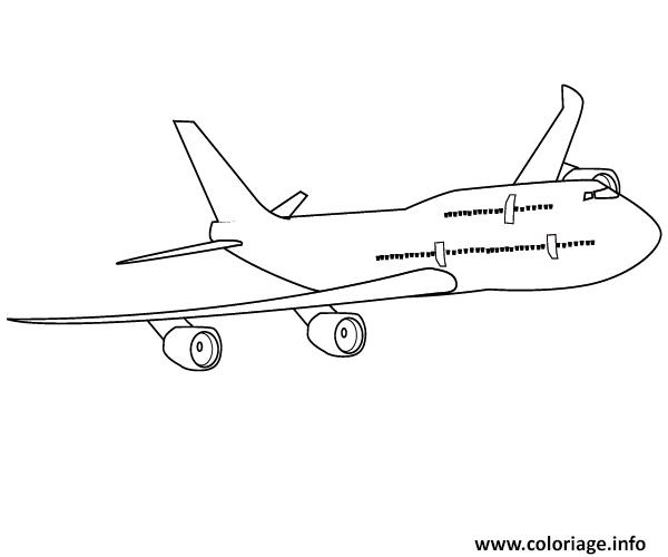 Coloriage avion 45 dessin - Coloriage a imprimer avion ...