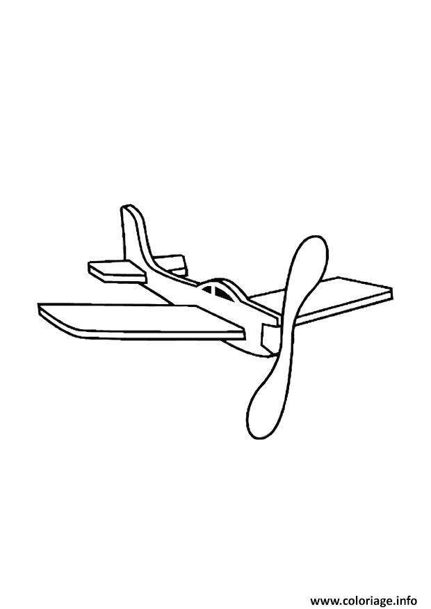 Coloriage avion 75 - Dessin avion a imprimer gratuit ...