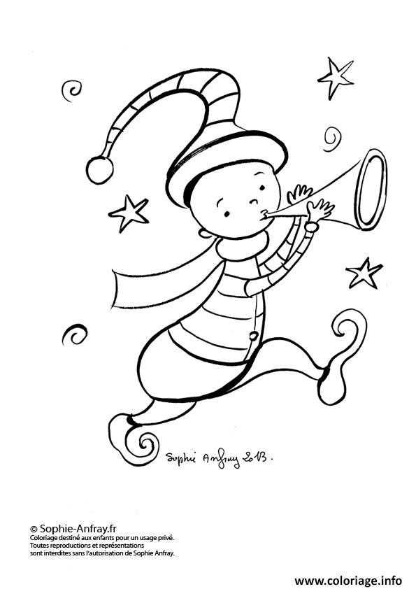 Coloriage lutin de noel 27 dessin - Lutin coloriage ...