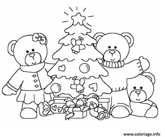 noel maternelle coloriage