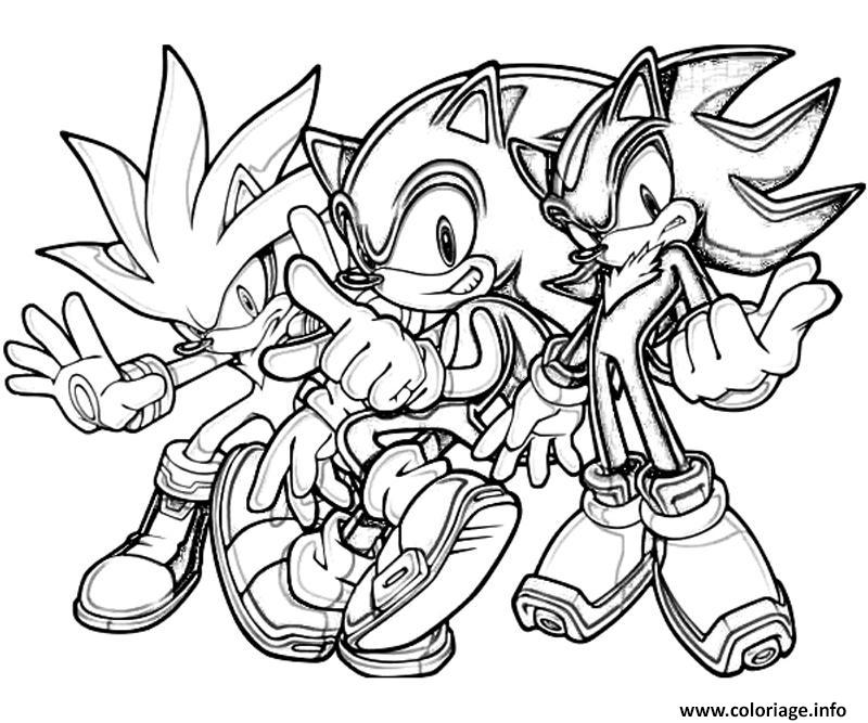 sonic 182 coloriage