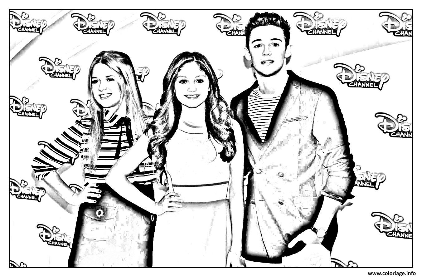 coloriage disney channel soy luna 3