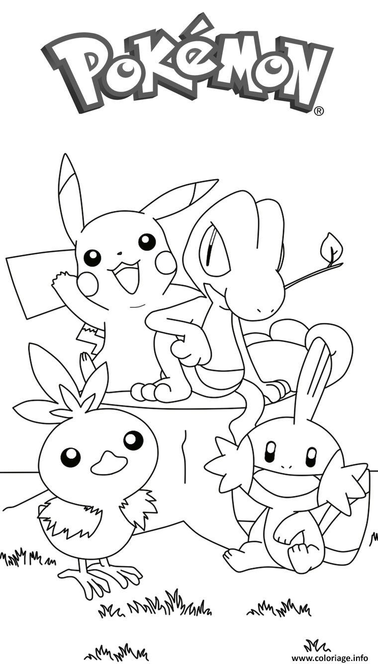 Coloriage pikachu 179 - JeColorie.com