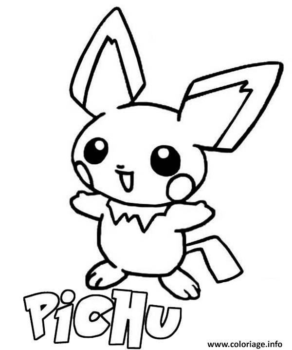 Pichku Coloring Pages