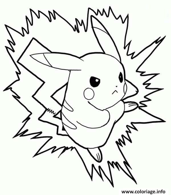 Coloriage pikachu 144 dessin - Pikachu a imprimer ...