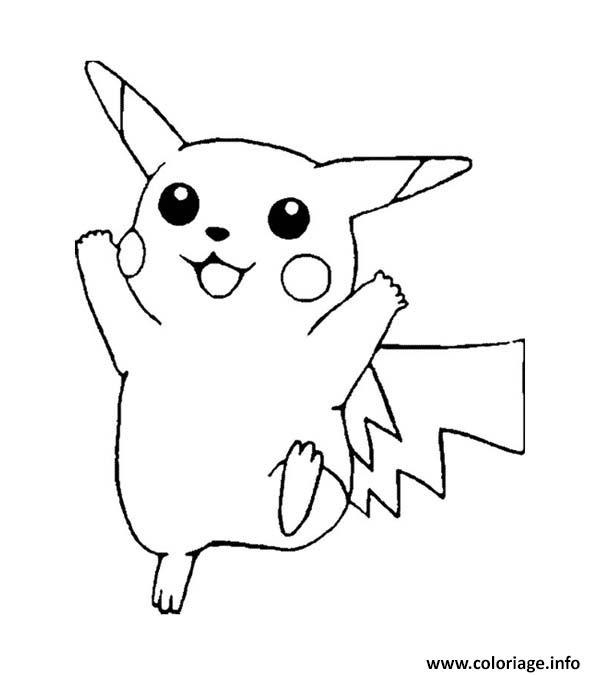 Coloriage pikachu 91 - Pikachu a imprimer ...