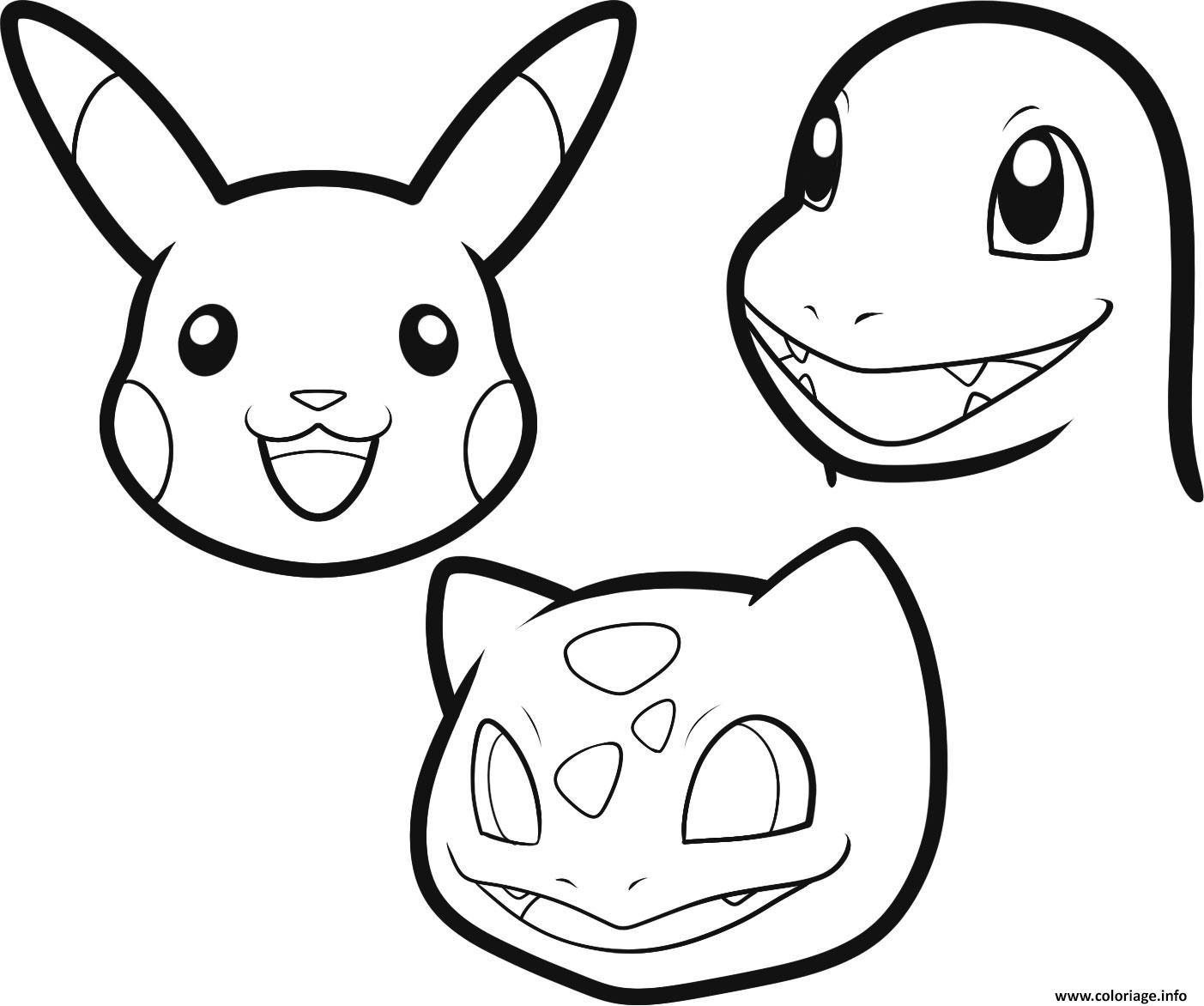 Dessin Facile Pokemon Colorier Les Enfants Marnfozinecom
