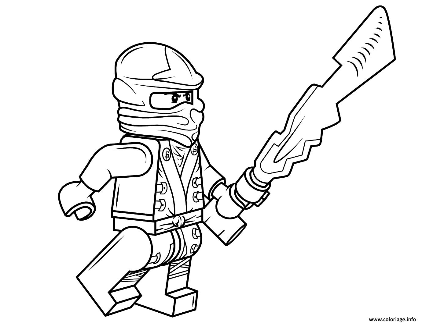 Coloriage lego ninjago cole dessin - Ninjago jeux gratuit ...
