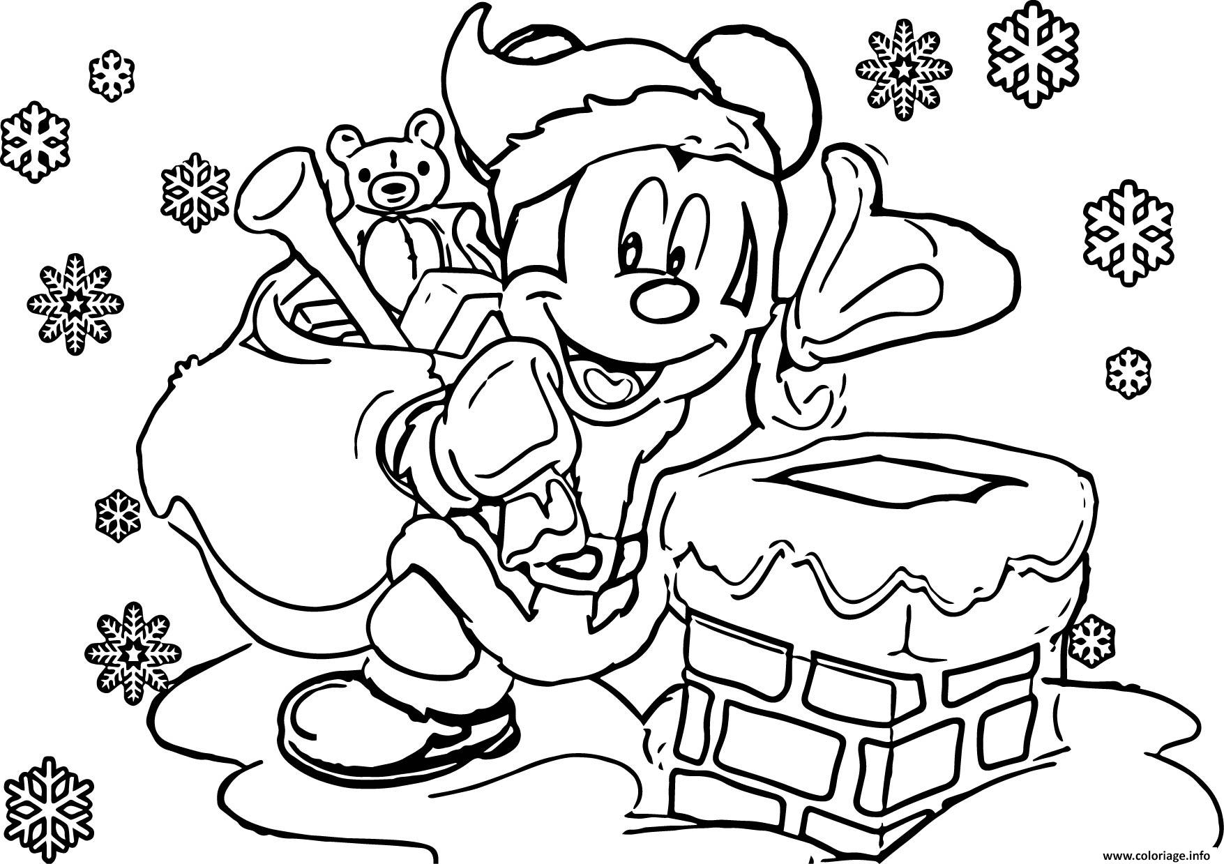Coloriage disney noel color dessin - Coloriage disney ...