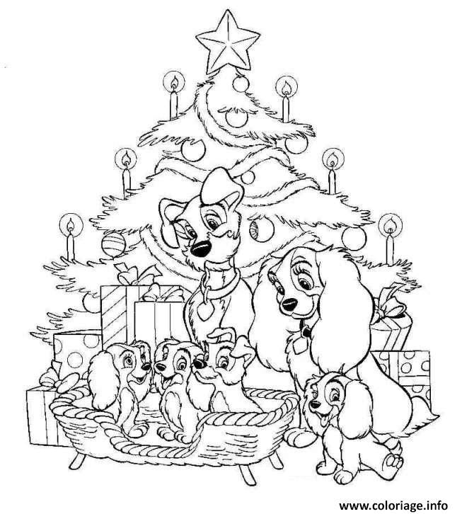 Coloriage Disney Noel 5 dessin