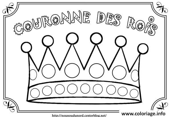 Coloriage galette des rois 2 - Coloriage couronne ...