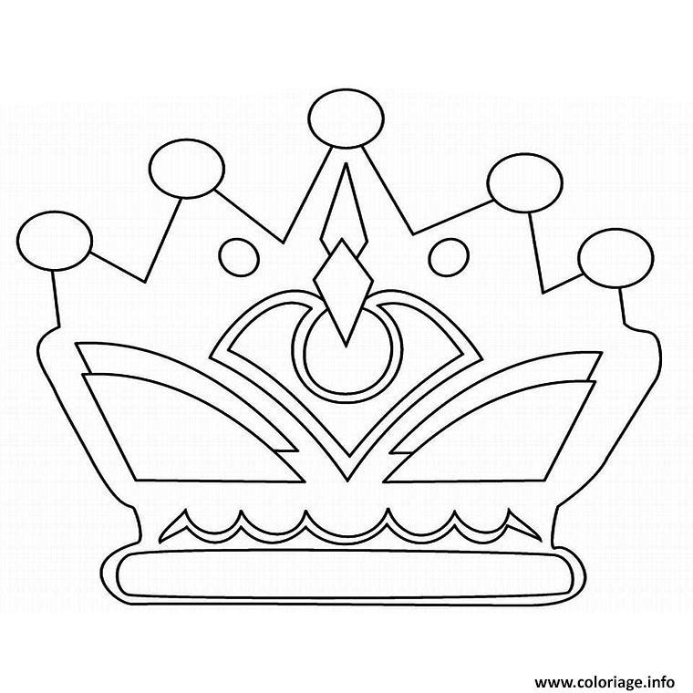 Coloriage couronne des rois images dessin - Dessin couronne princesse ...