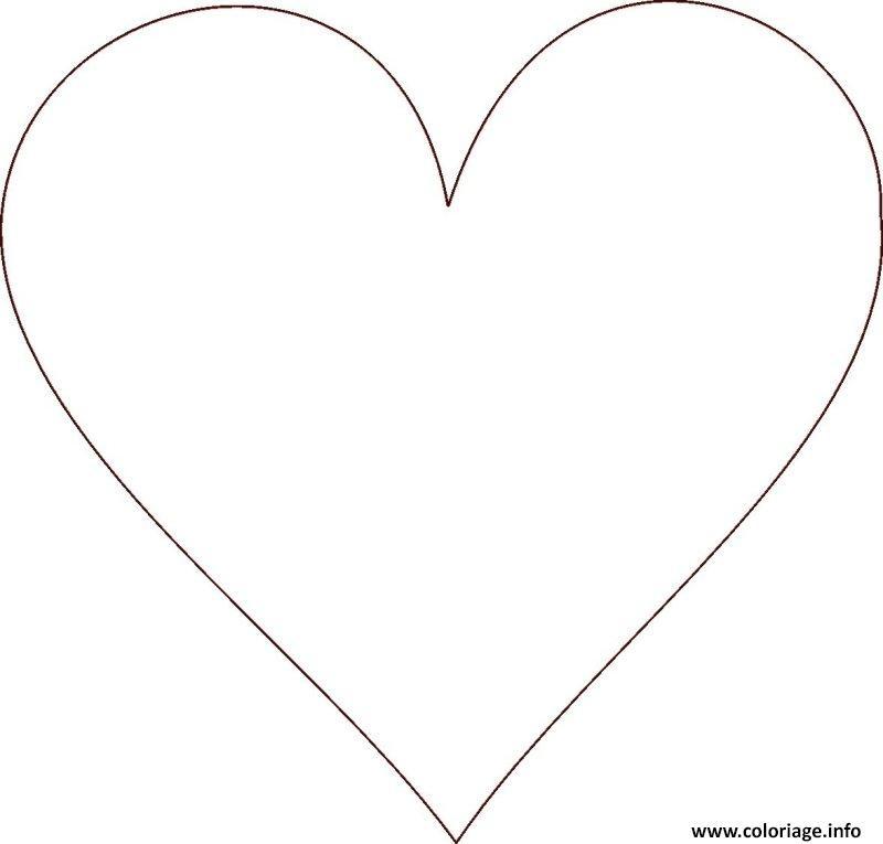 Coloriage coeur 85 - Image de coeur a colorier ...