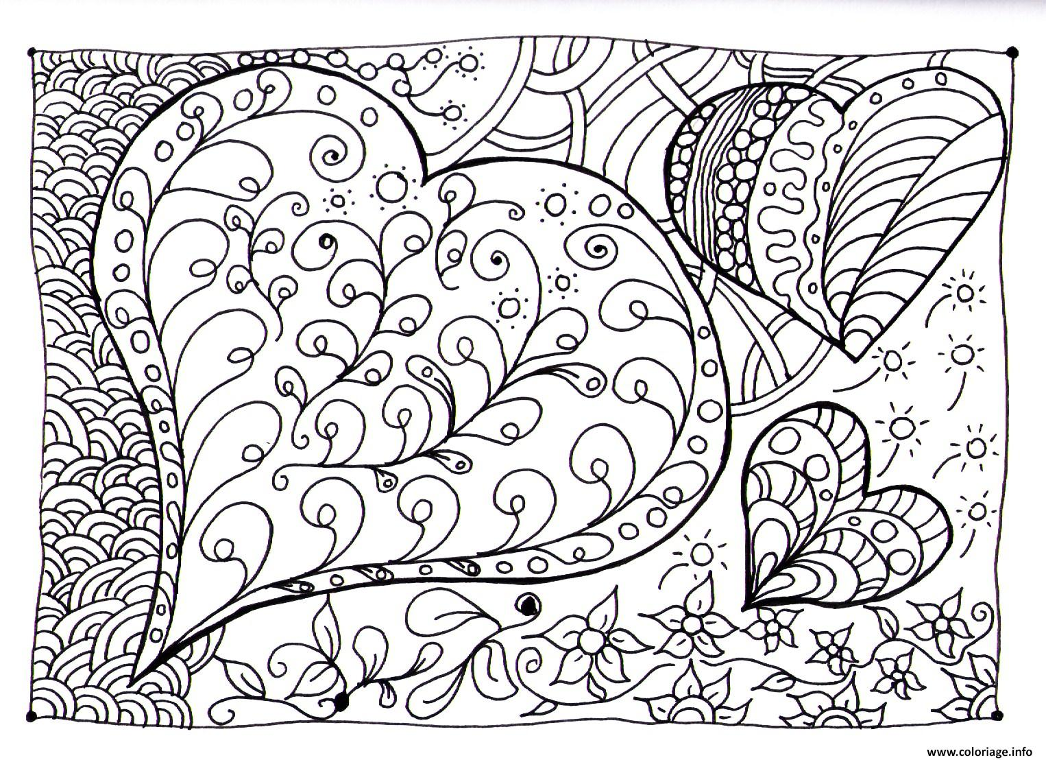 Coloriage Magique Coeur A Imprimer.Coloriage Magique Coeur Mjcfj Val Bonne