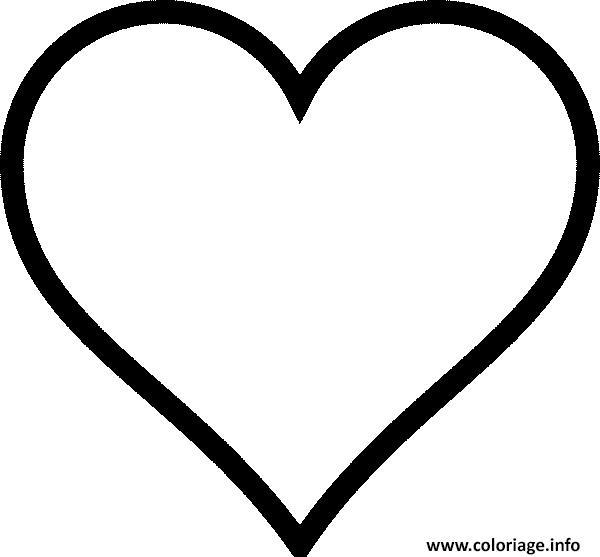 Coloriage Coeur Amour Gratuit.Coloriage Coeur Amour 40 Dessin