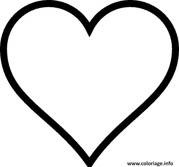 Coloriage Coeur Amour 40 Dessin