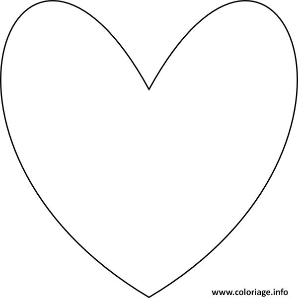 Coloriage coeur 86 - Coeur a imprimer gratuitement ...