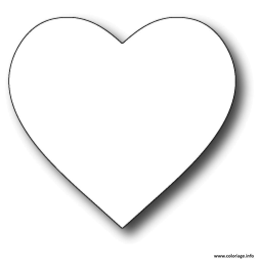 Coloriage Coeur Saint Valentin 21 Jecolorie Com