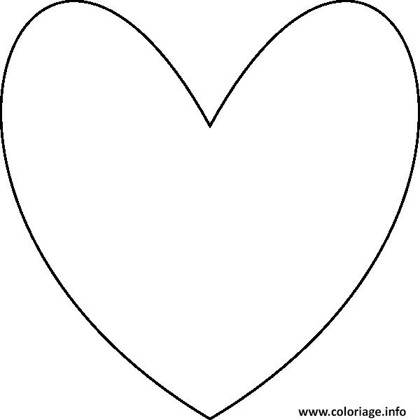 Coloriage Coeur Amour 47 Dessin