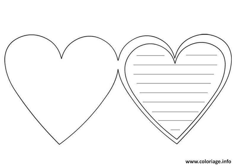 dessin a imprimer de coeur